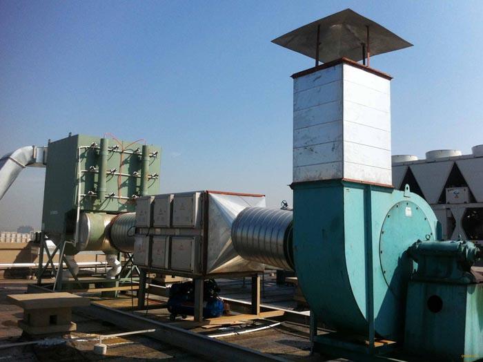 平顶山某印刷厂废气处理设备项目
