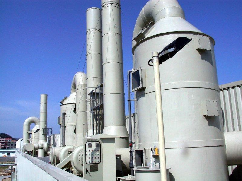 广州某制药厂废气处理设备项目