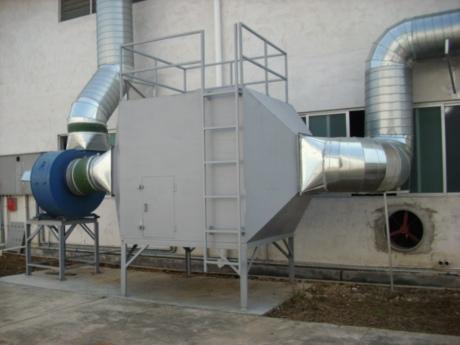 喷漆废气处理净化工程工艺技术要求及一般规定