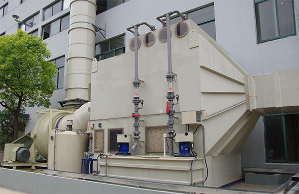 海思乐分享塑胶制品厂喷漆废气处理方案