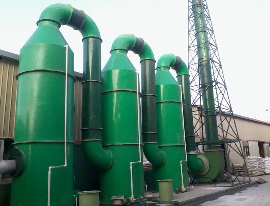 酸雾废气处理设备使用范围和特点