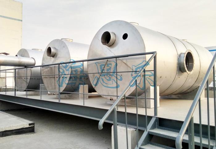 山东鲁抗制药厂原料回收+废气处理设备项目