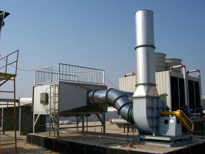 废气处理设备特点及服务流程