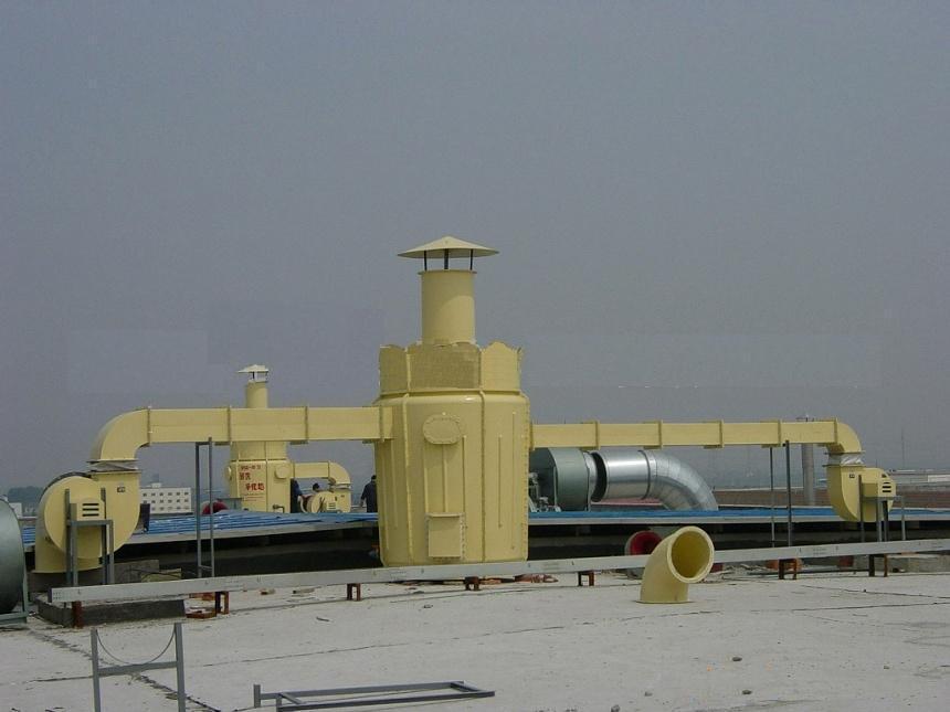 在工业中常用的硫化氢废气处理设备方法有吸收法和吸附法