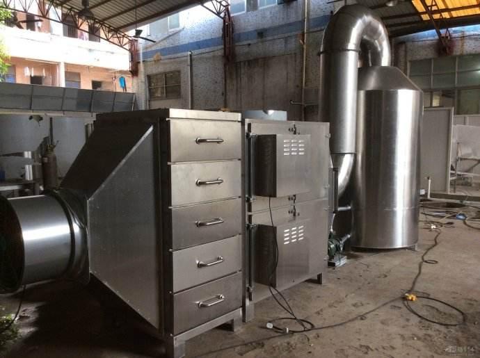 注塑加工业废气处理方案
