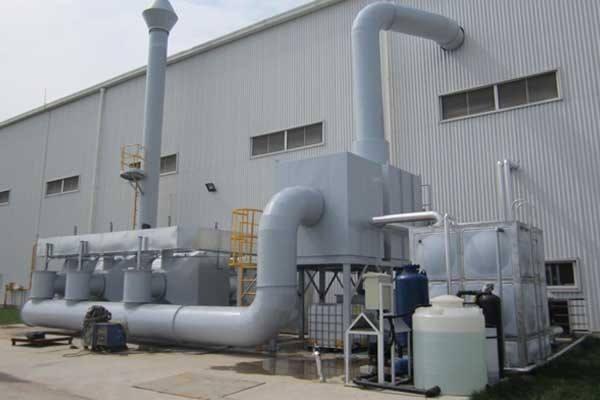 塑料造粒厂工业废气处理设备相关性能及优势