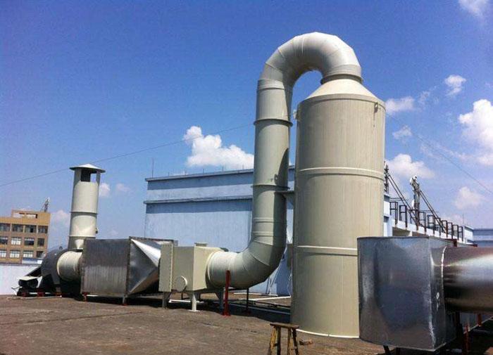 塑料造粒厂的废气处理设备的选型
